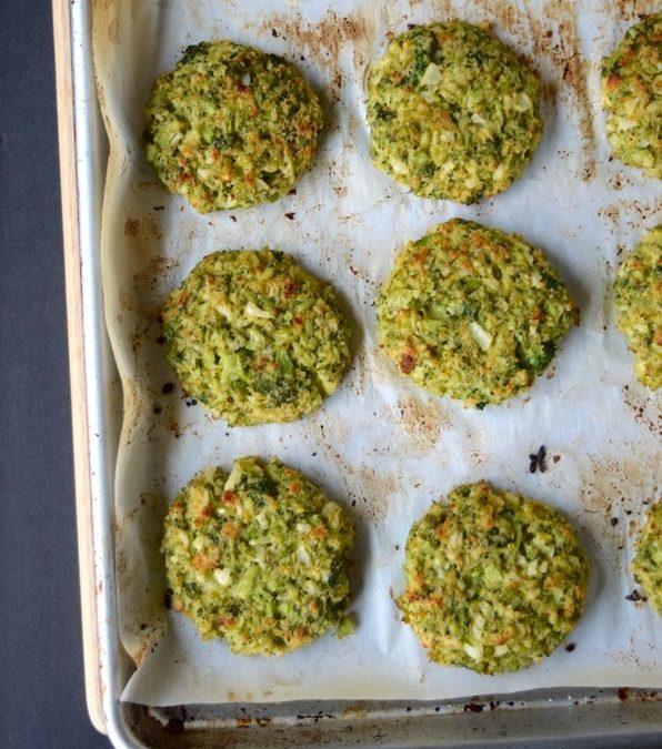 Broccoli Cauliflower Cakes