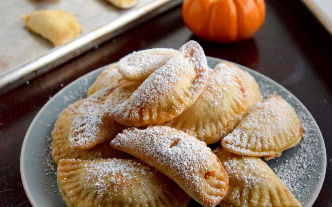 Pumpkin Pie Mini Dumplings