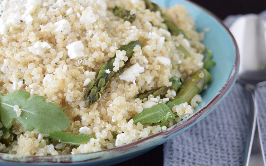 Asparagus, Arugula and Quinoa Spring Salad