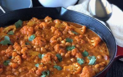 Chickpea Cauliflower Tikka Masala